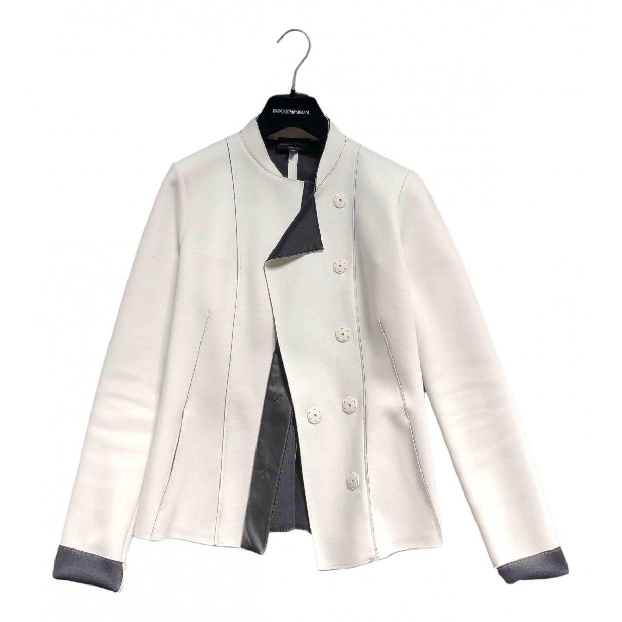 Emporio Armani \N White jacket for Women 36 IT