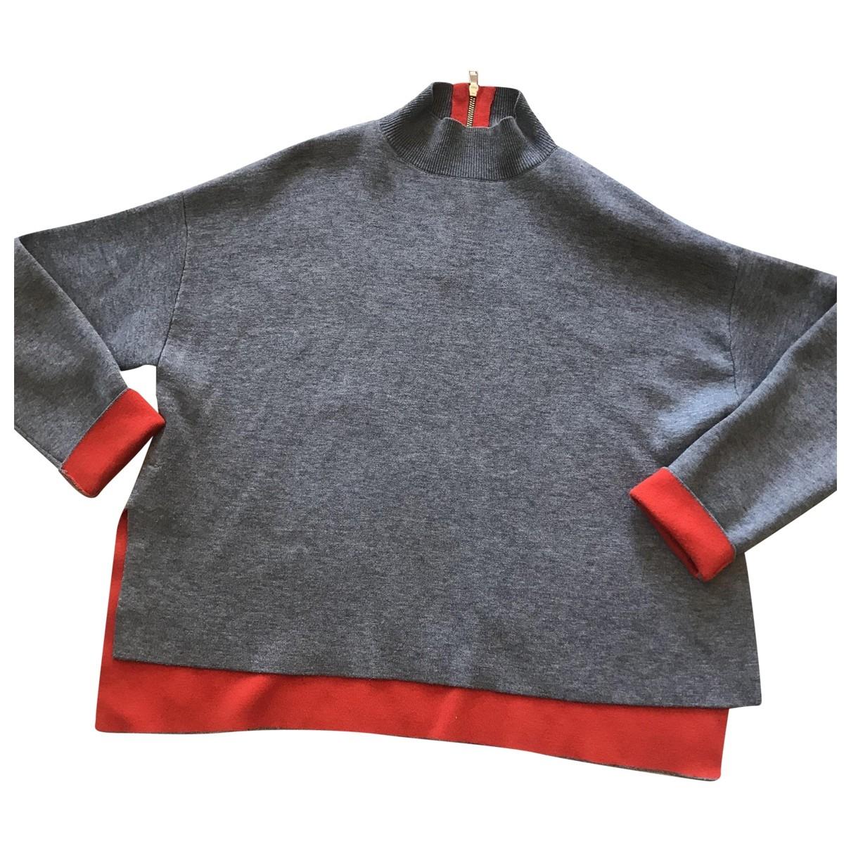 Tara Jarmon - Pull   pour femme en laine - gris