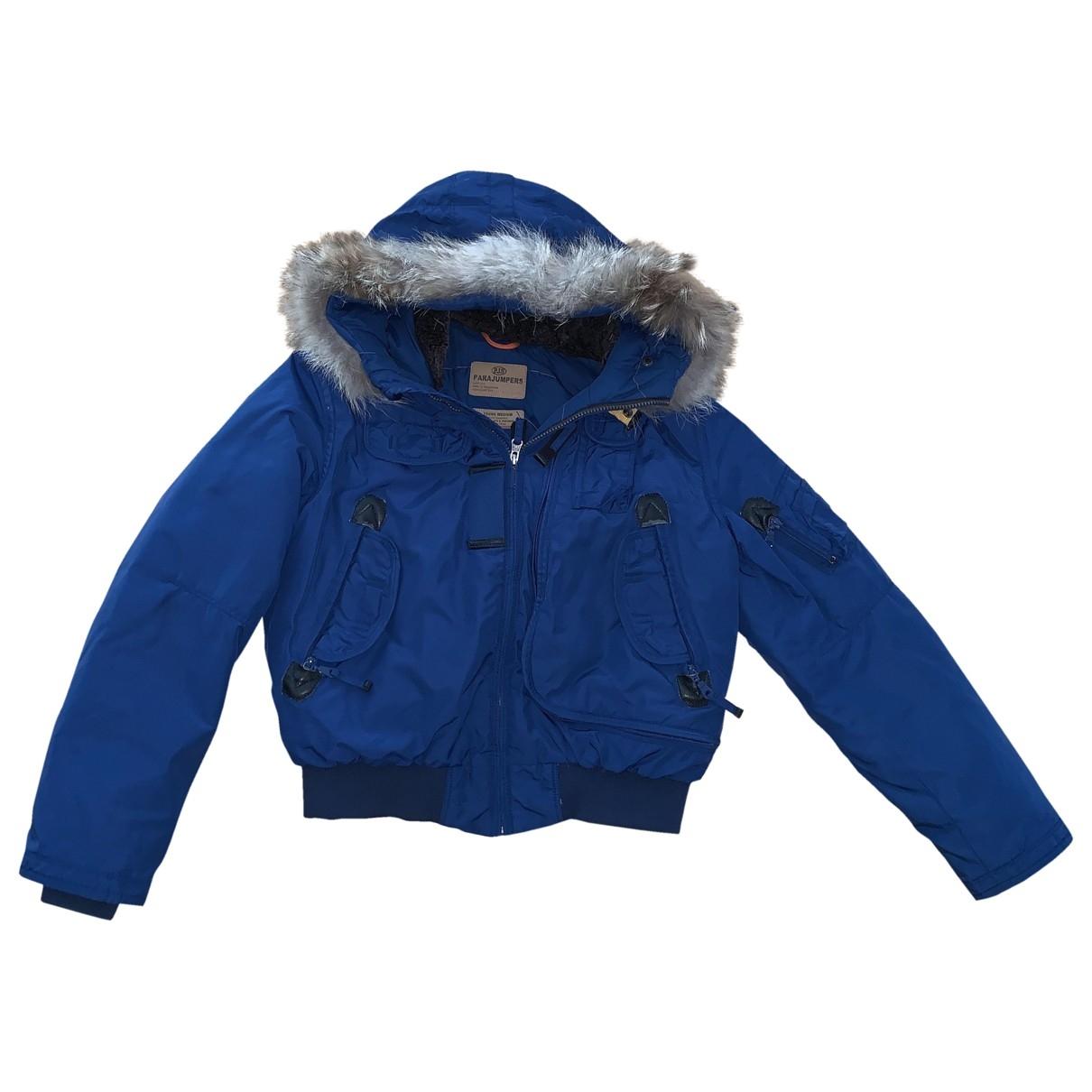 Parajumpers - Blousons.Manteaux   pour enfant en racoon - bleu