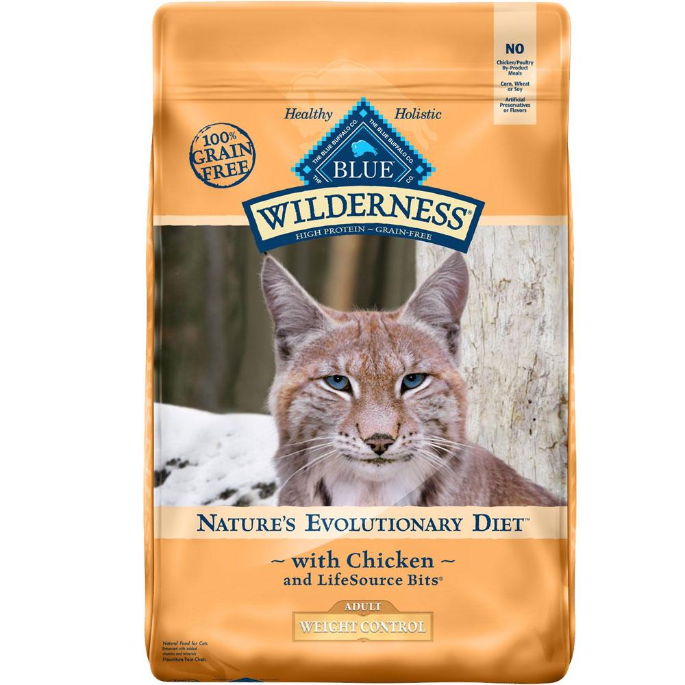 Blue Buffalo Wilderness Grain-Free Weight Control Chicken Recipe (11 lb)
