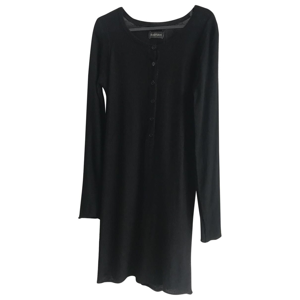 Zadig & Voltaire - Robe Fall Winter 2019 pour femme en laine - noir
