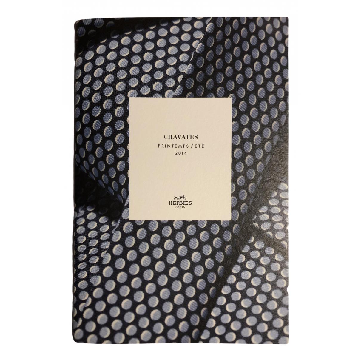 Hermes \N Mode in  Blau Baumwolle