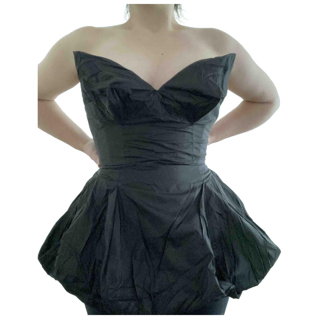 Vivienne Westwood - Top   pour femme en soie - noir