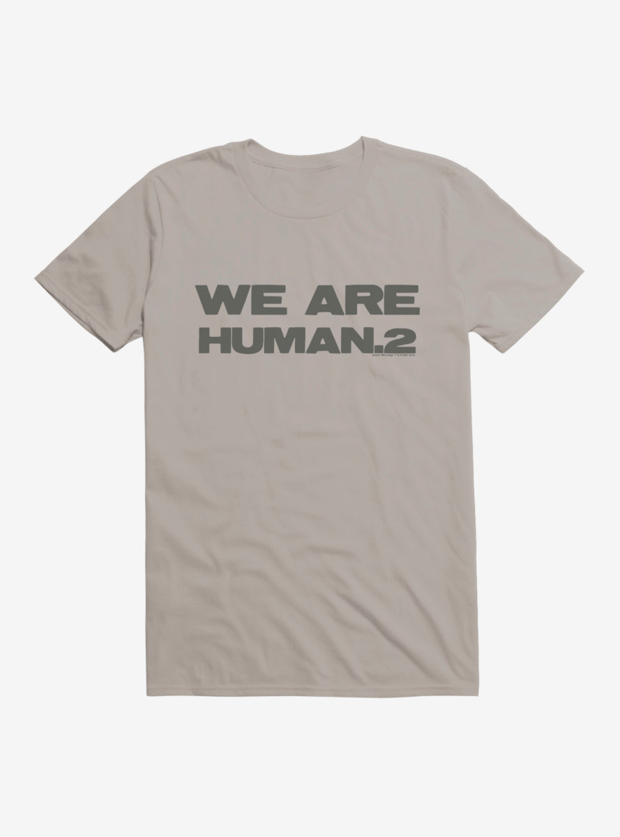 Doctor Who Cybermen We Are Human T-Shirt