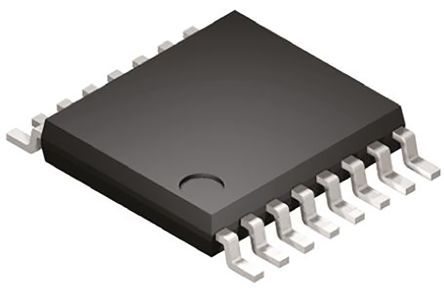ON Semiconductor NLSF595DTR2G, LED Driver, -0.5 → 7 V, 16-Pin TSSOP (5)
