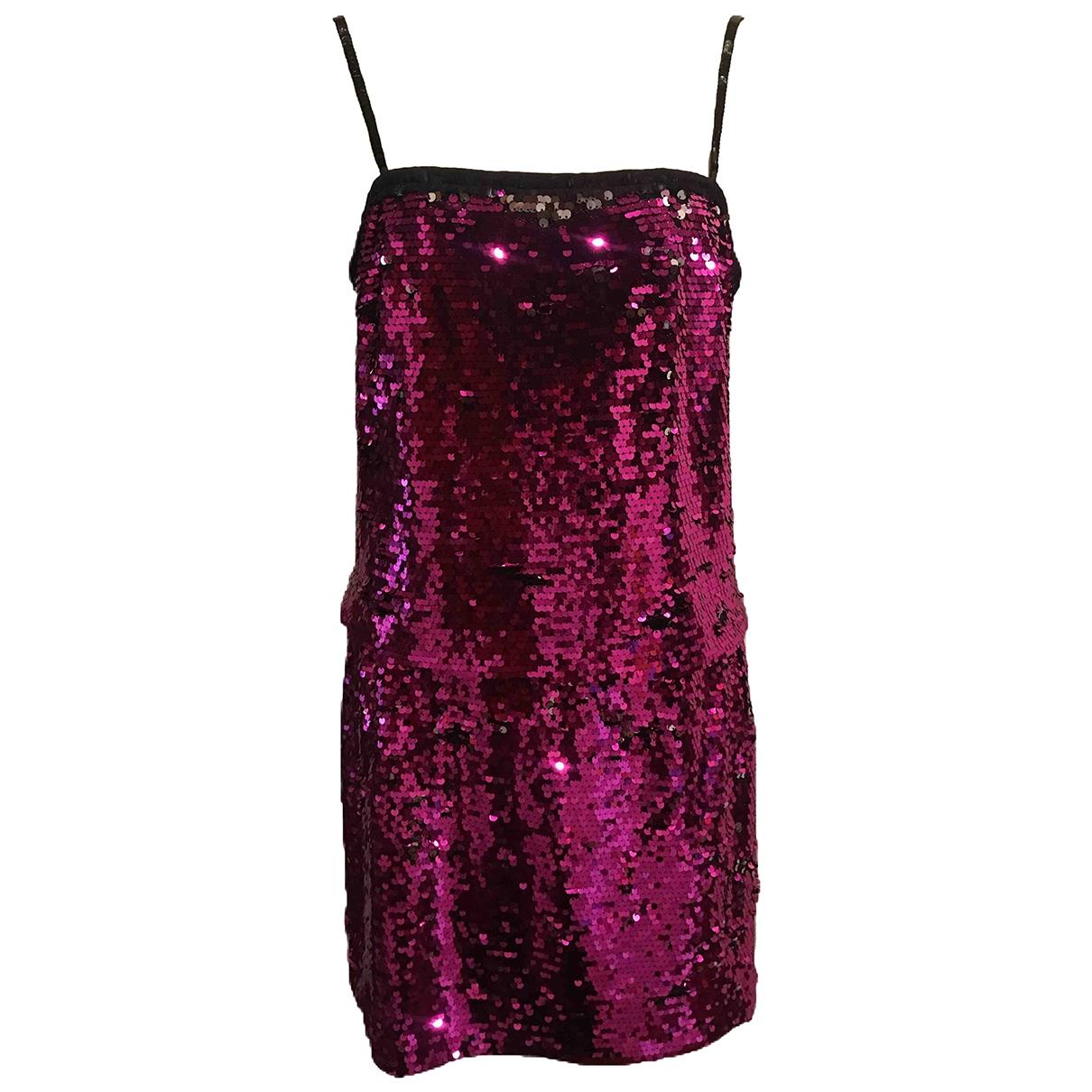 Mini vestido de Con lentejuelas Dolce & Gabbana