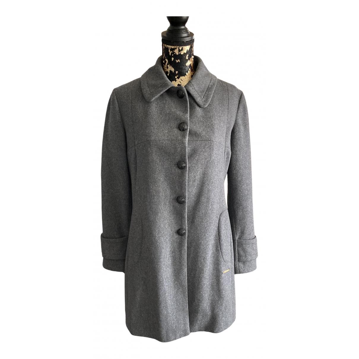 Burberry \N Grey Wool coat for Women 40 FR