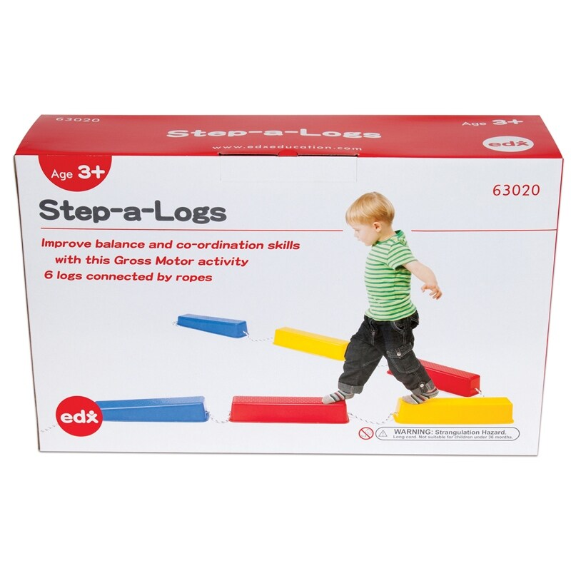 Step-A-Logs™, Set of 6 (Assembly Required)