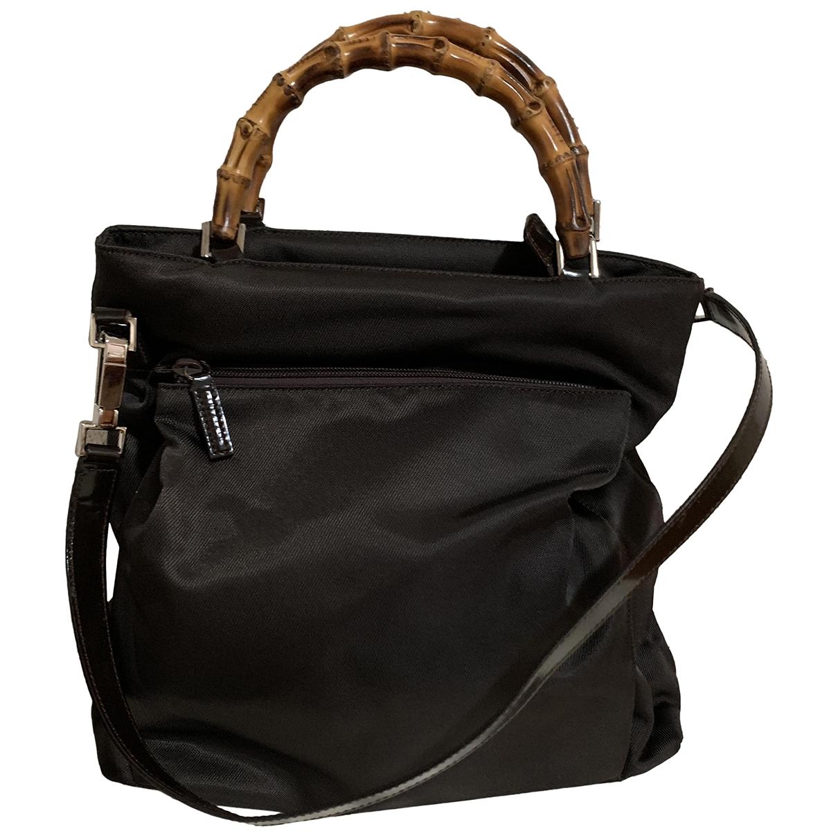 Gucci Bamboo Brown handbag for Women \N