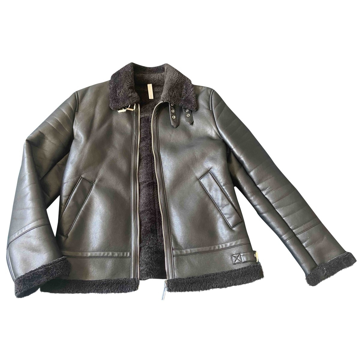 Zara \N Black coat  for Men L International