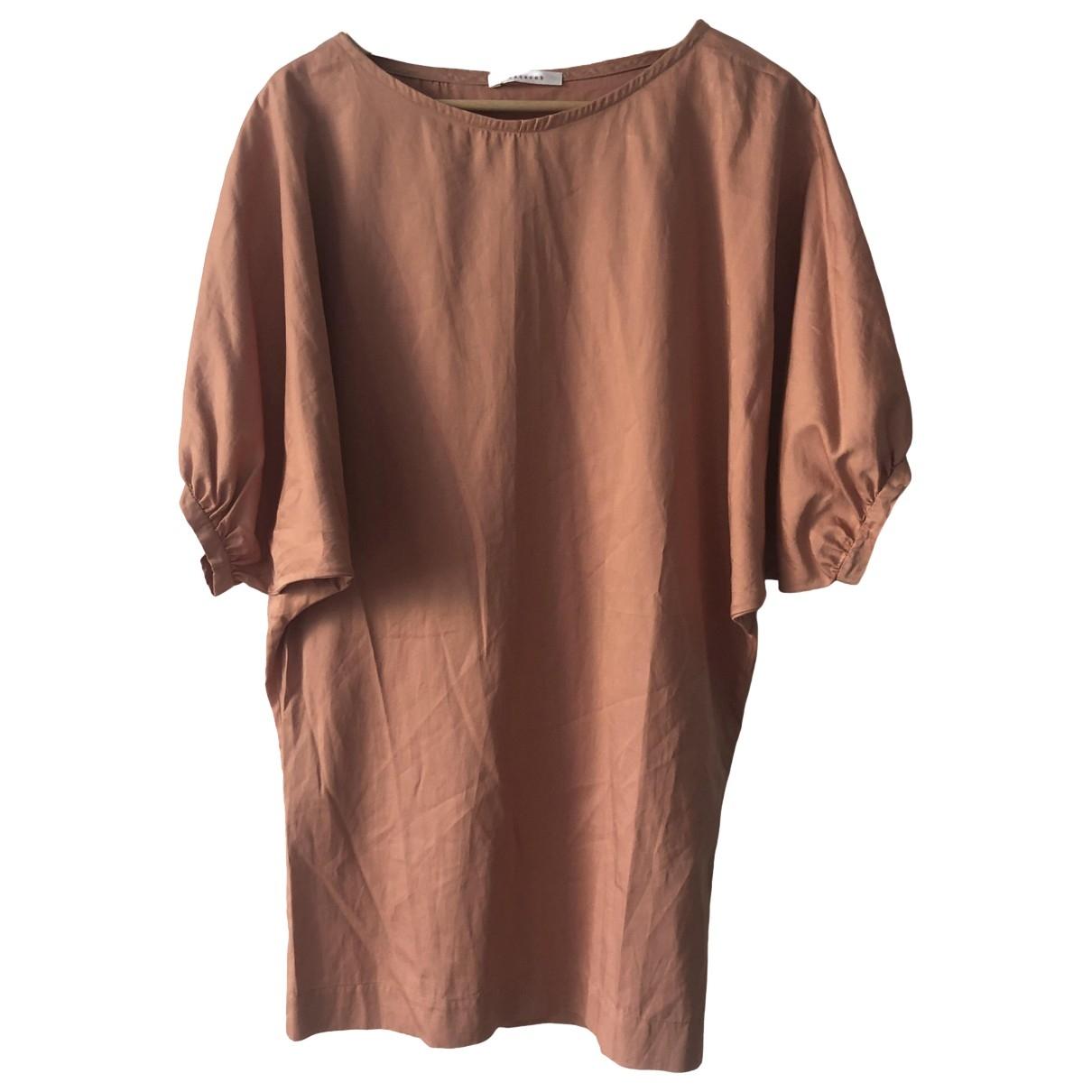 Masscob - Jupe   pour femme en coton - orange