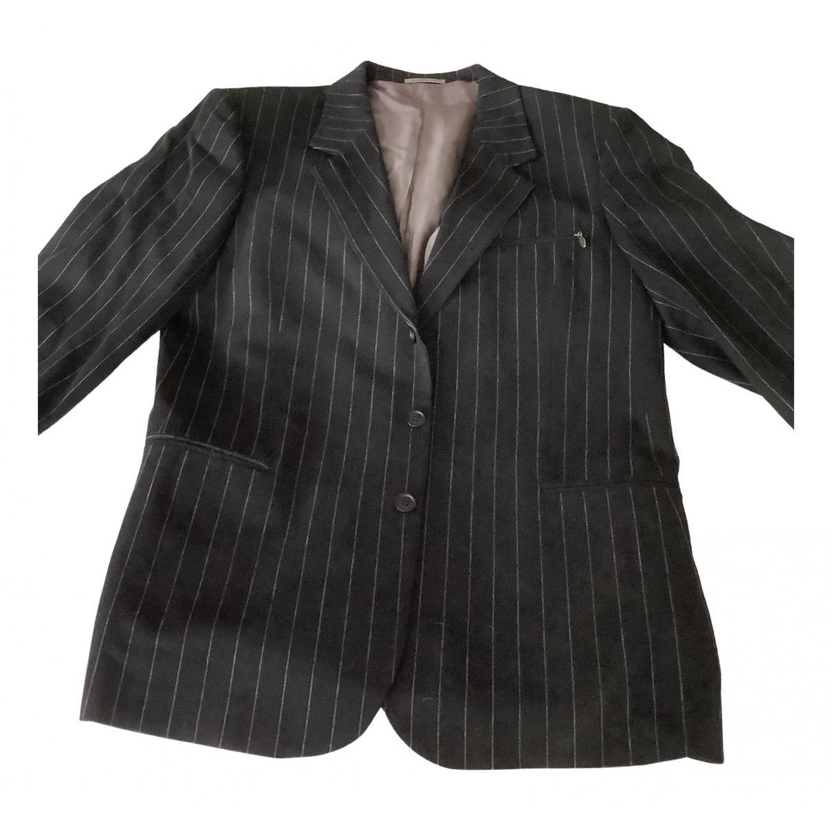 Non Signé / Unsigned \N Black jacket  for Men 54 FR