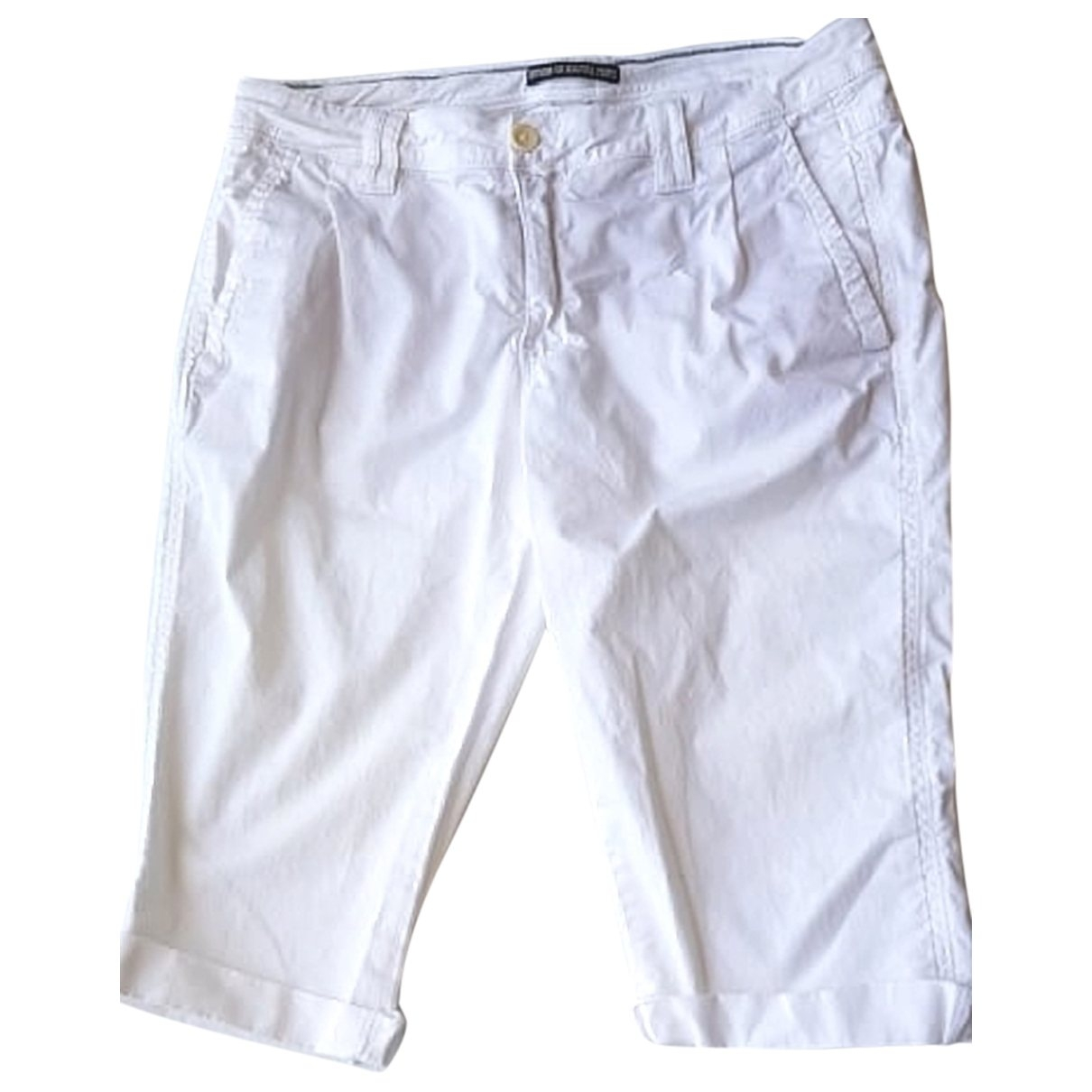 Drykorn \N White Cotton Trousers for Women S International