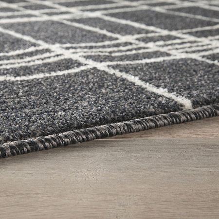 Signature Design by Ashley Jai Rectangular Indoor Rugs, One Size , Black