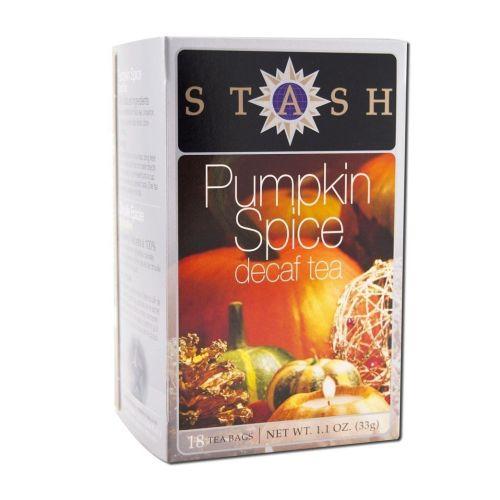 Pumpkin Spice Decaf Tea 18 Count by Stash Tea
