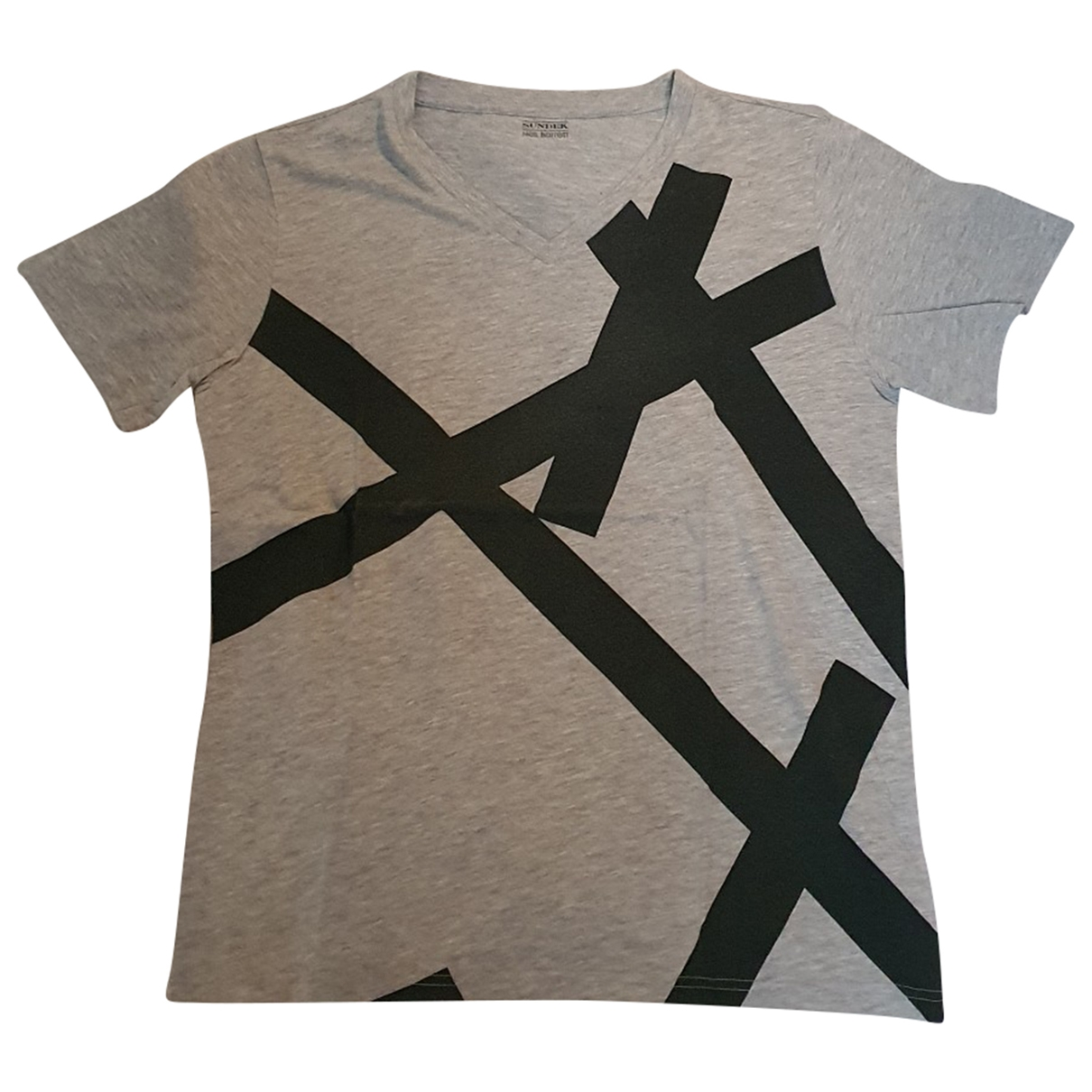 Sundek \N Grey Cotton T-shirts for Men L International