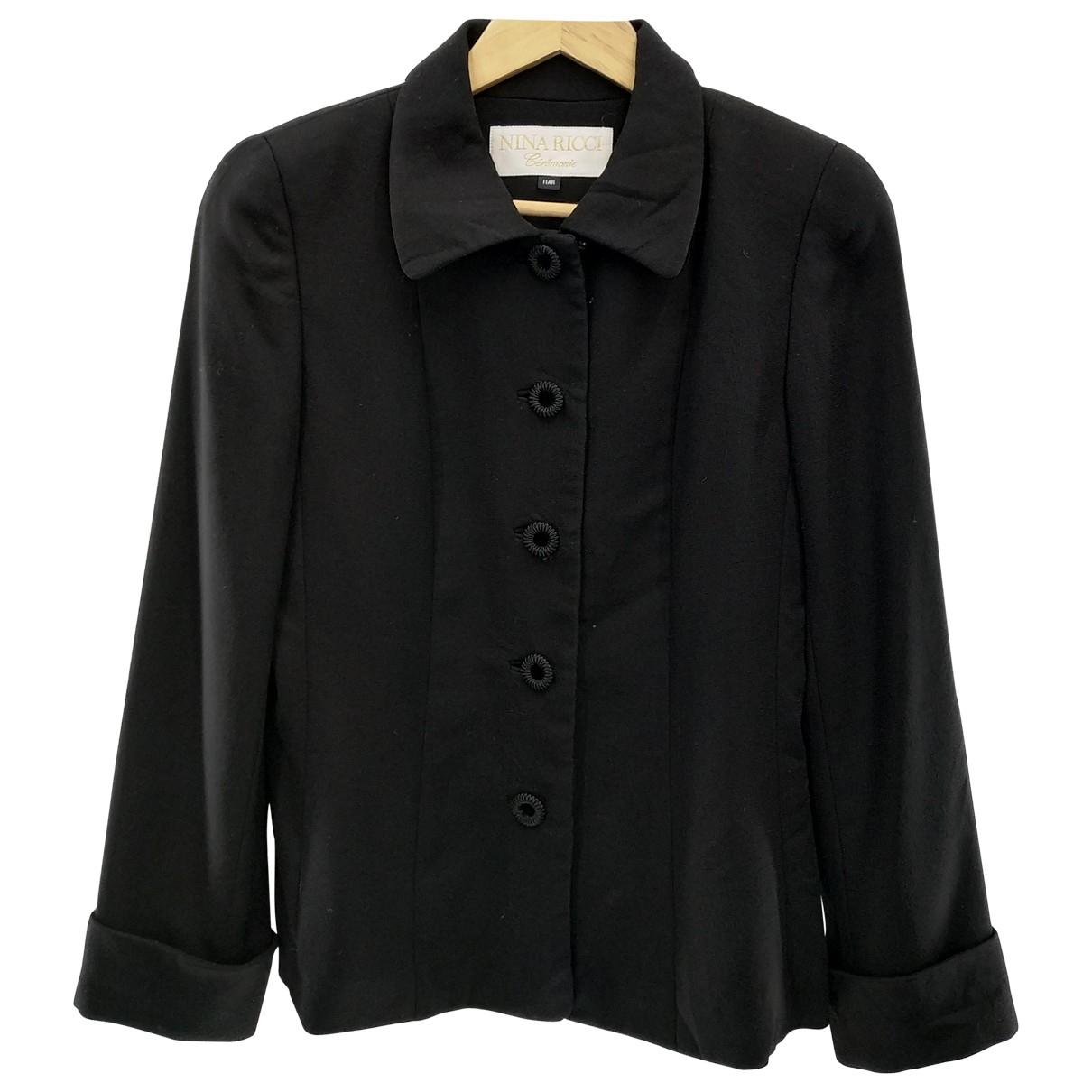Nina Ricci \N Black coat for Women S International