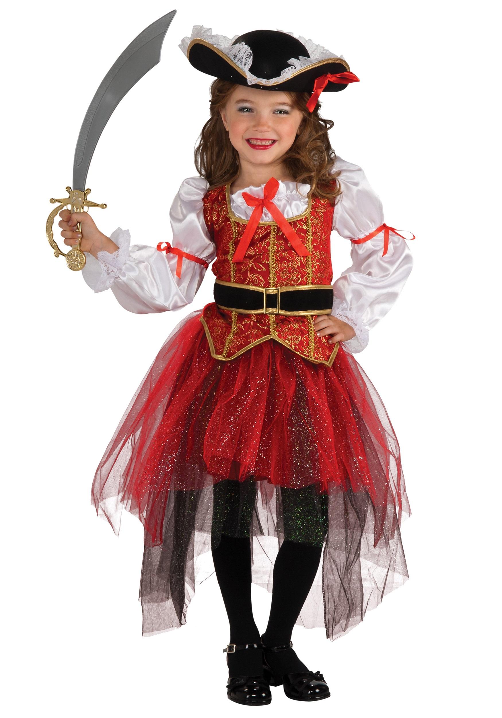 Princess Sea Pirate Costume for Girl