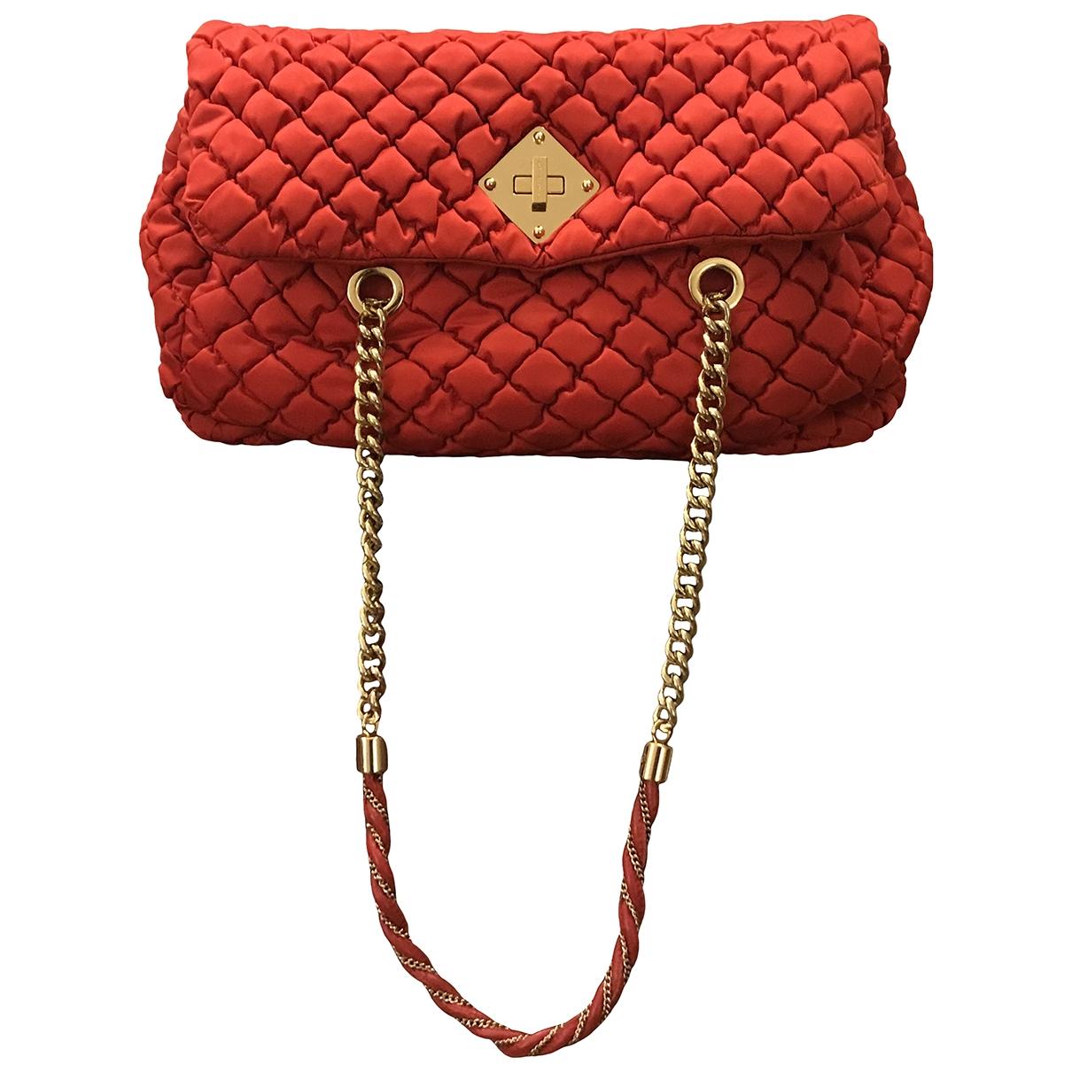 Moschino \N Handtasche in  Rot Baumwolle