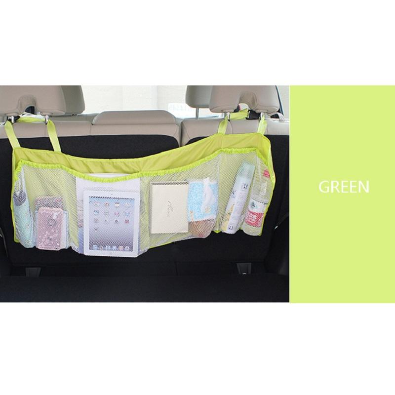 Plain Pattern Single Piece Lengthened Backseat Organizer