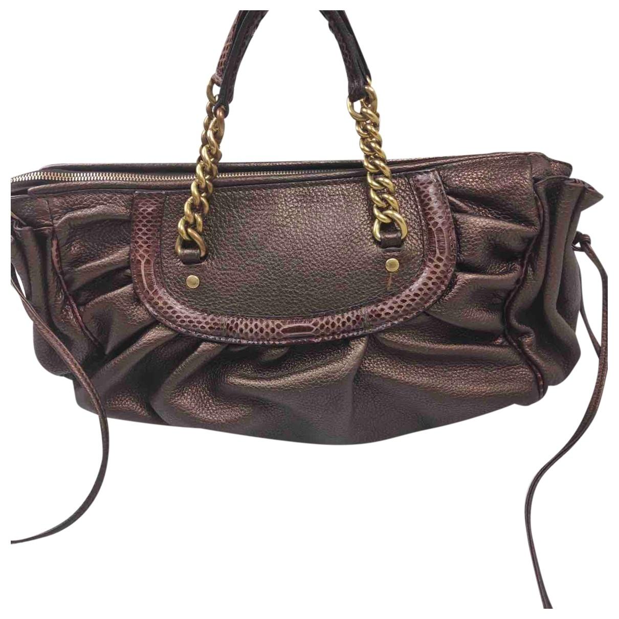 Dolce & Gabbana \N Handtasche in  Braun Leder