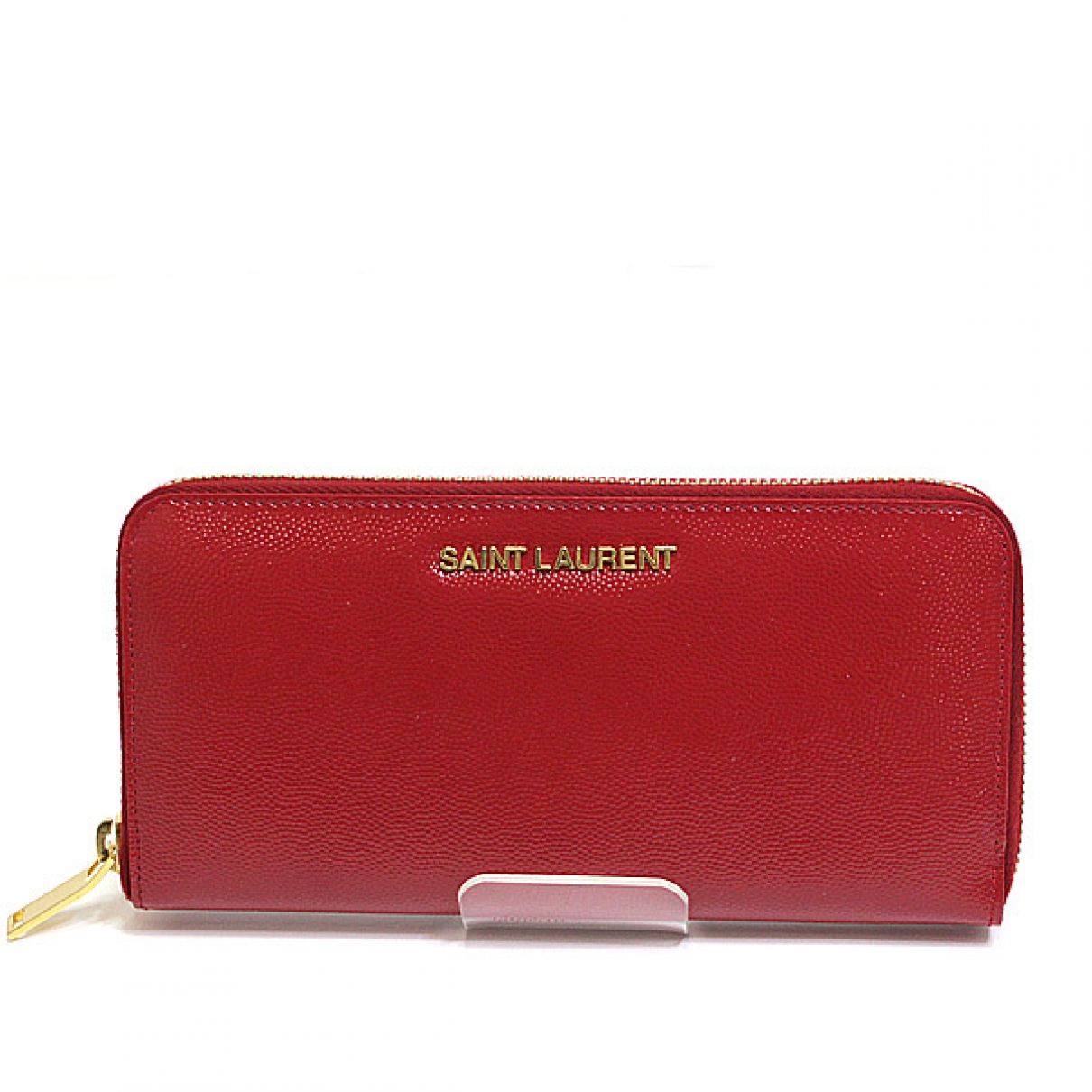 Saint Laurent \N Red Patent leather wallet for Women \N