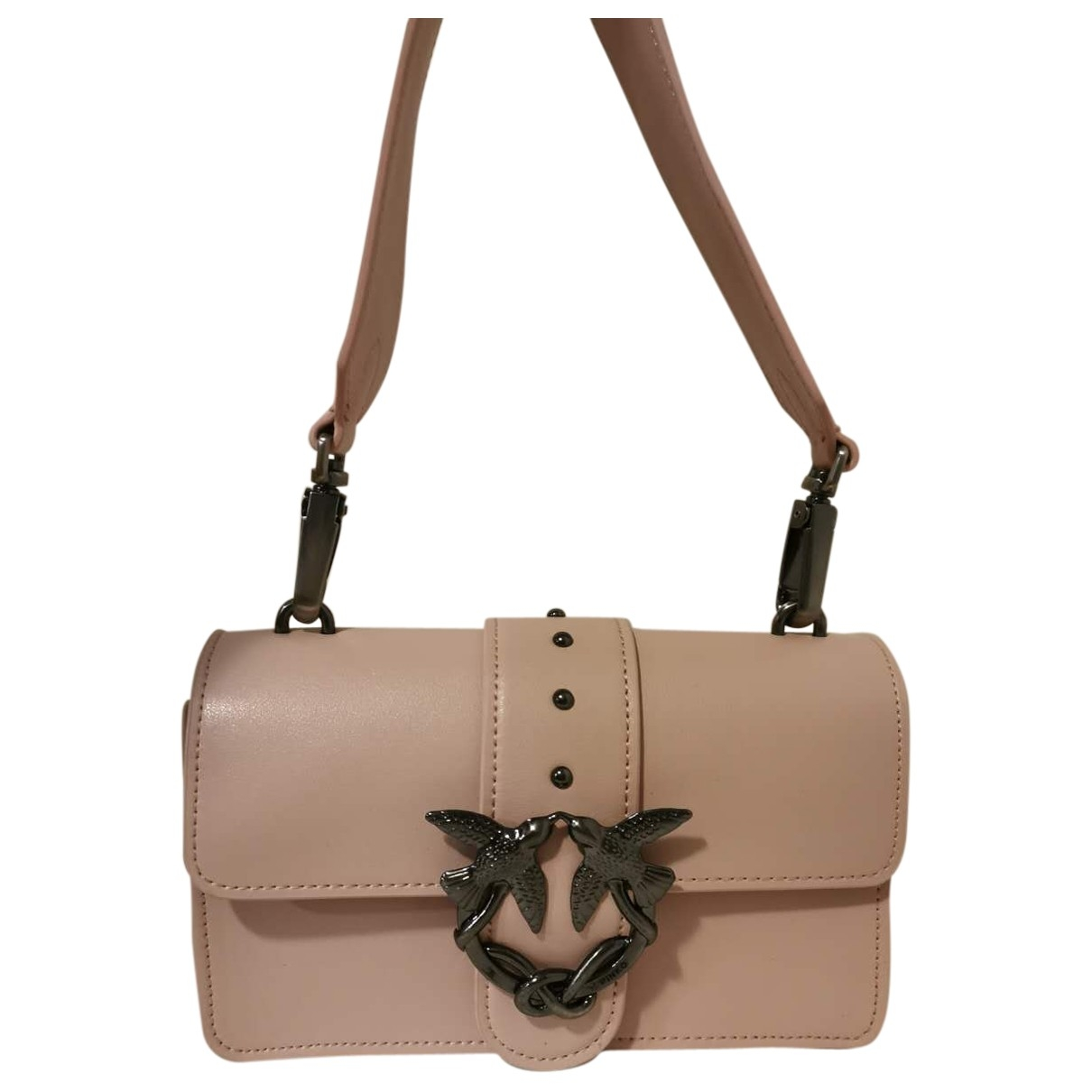 Bolso  Love Bag de Cuero Pinko