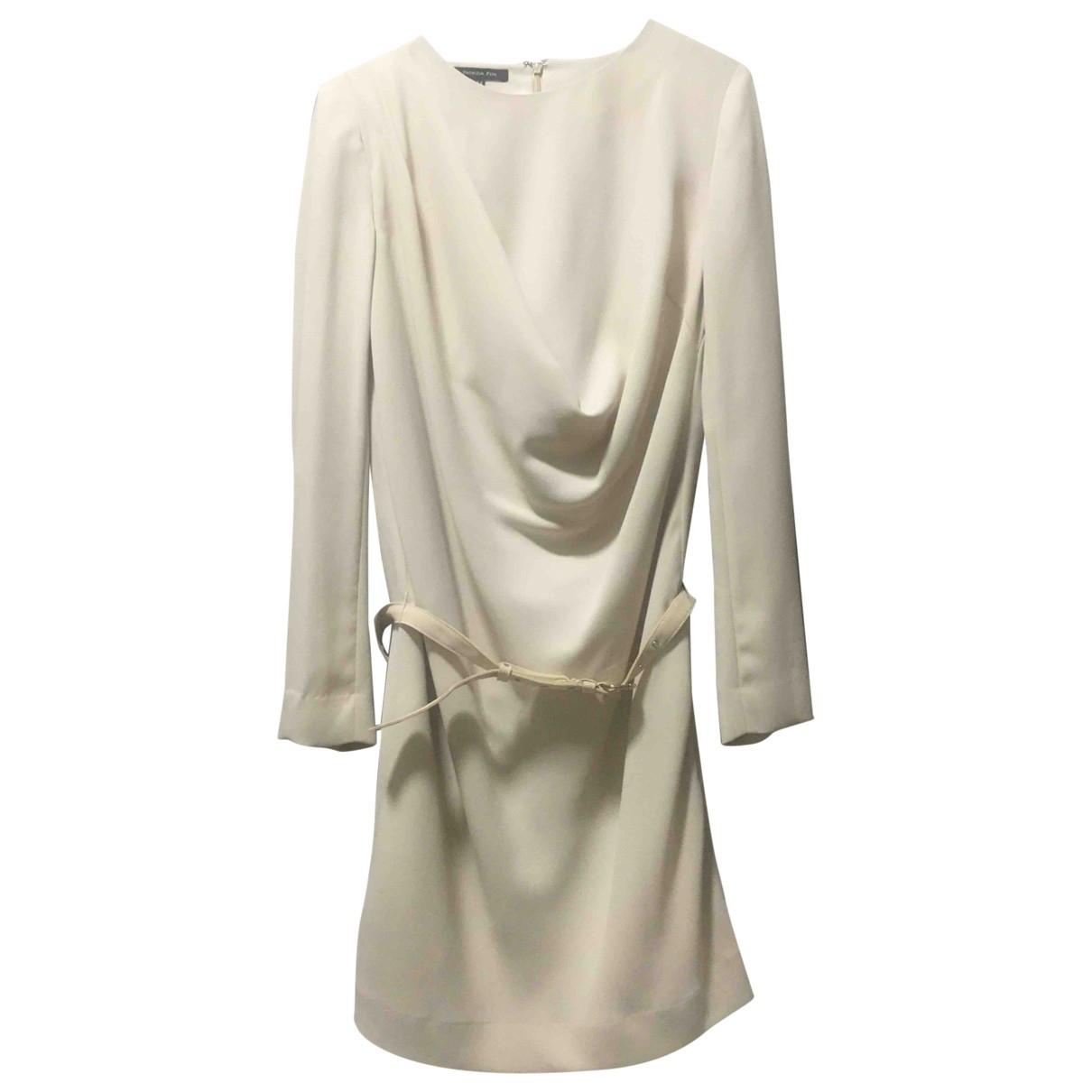 Patrizia Pepe \N Beige dress for Women 44 IT