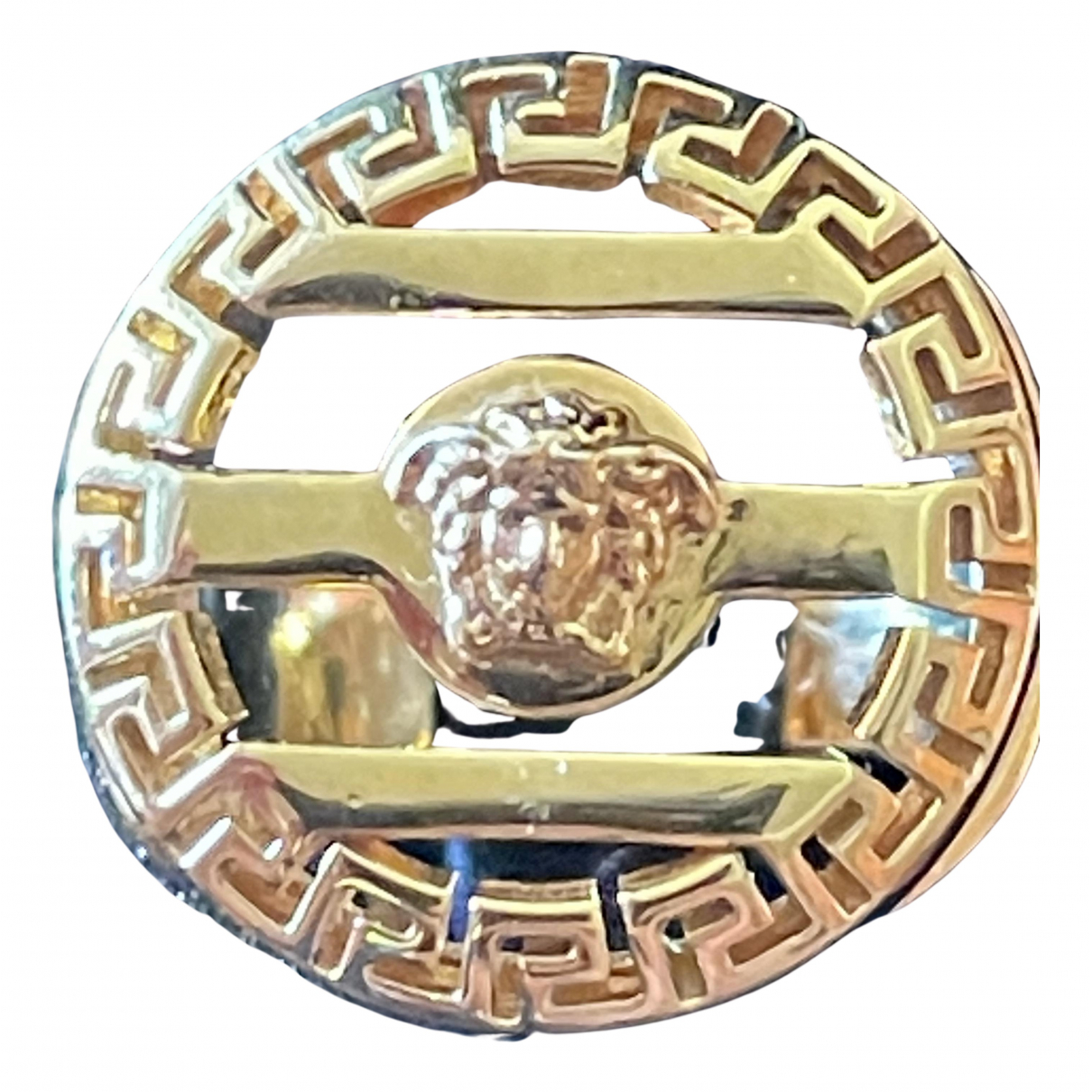 Versace - Bijoux Medusa pour homme en or jaune - dore