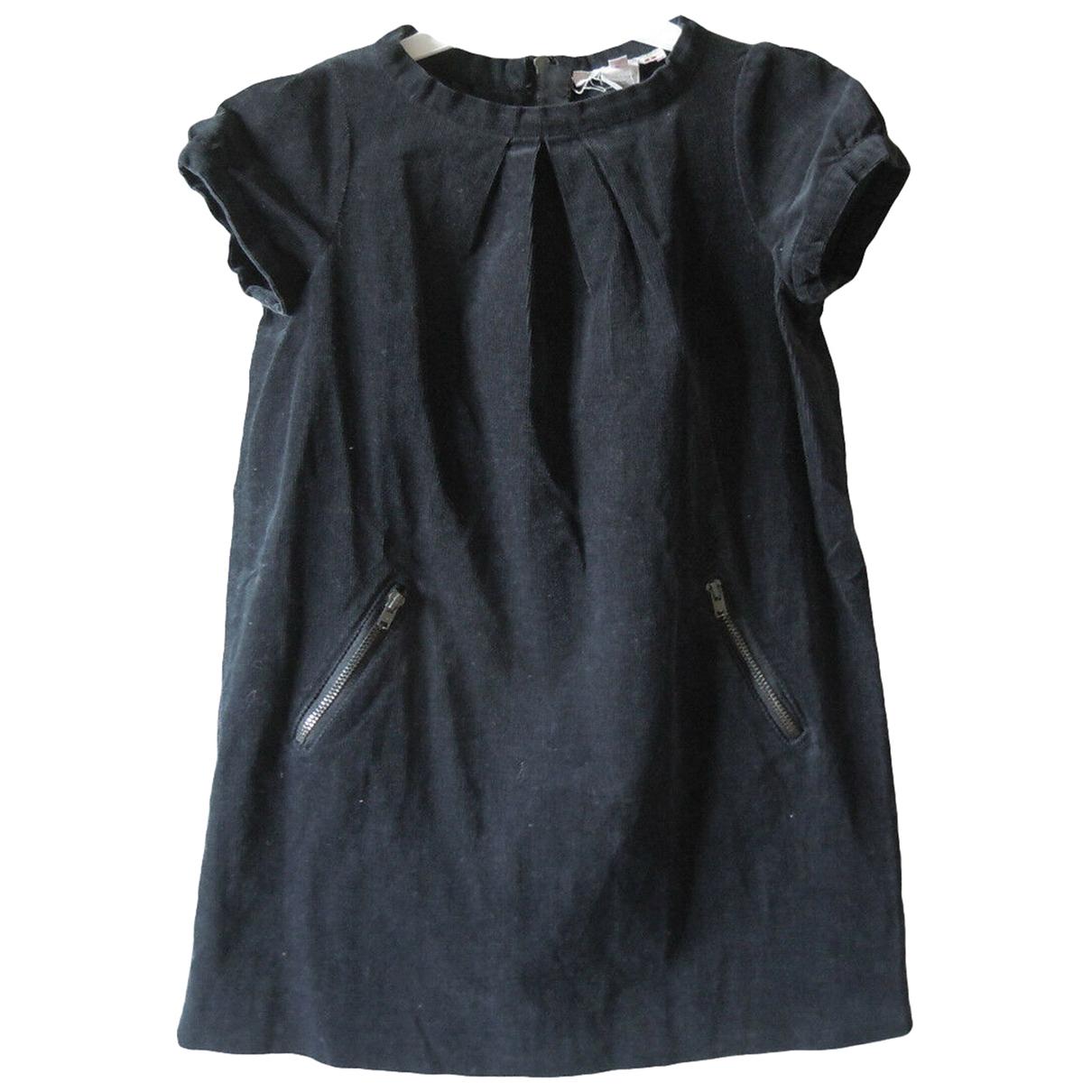 Bonpoint - Robe    pour enfant en coton - noir