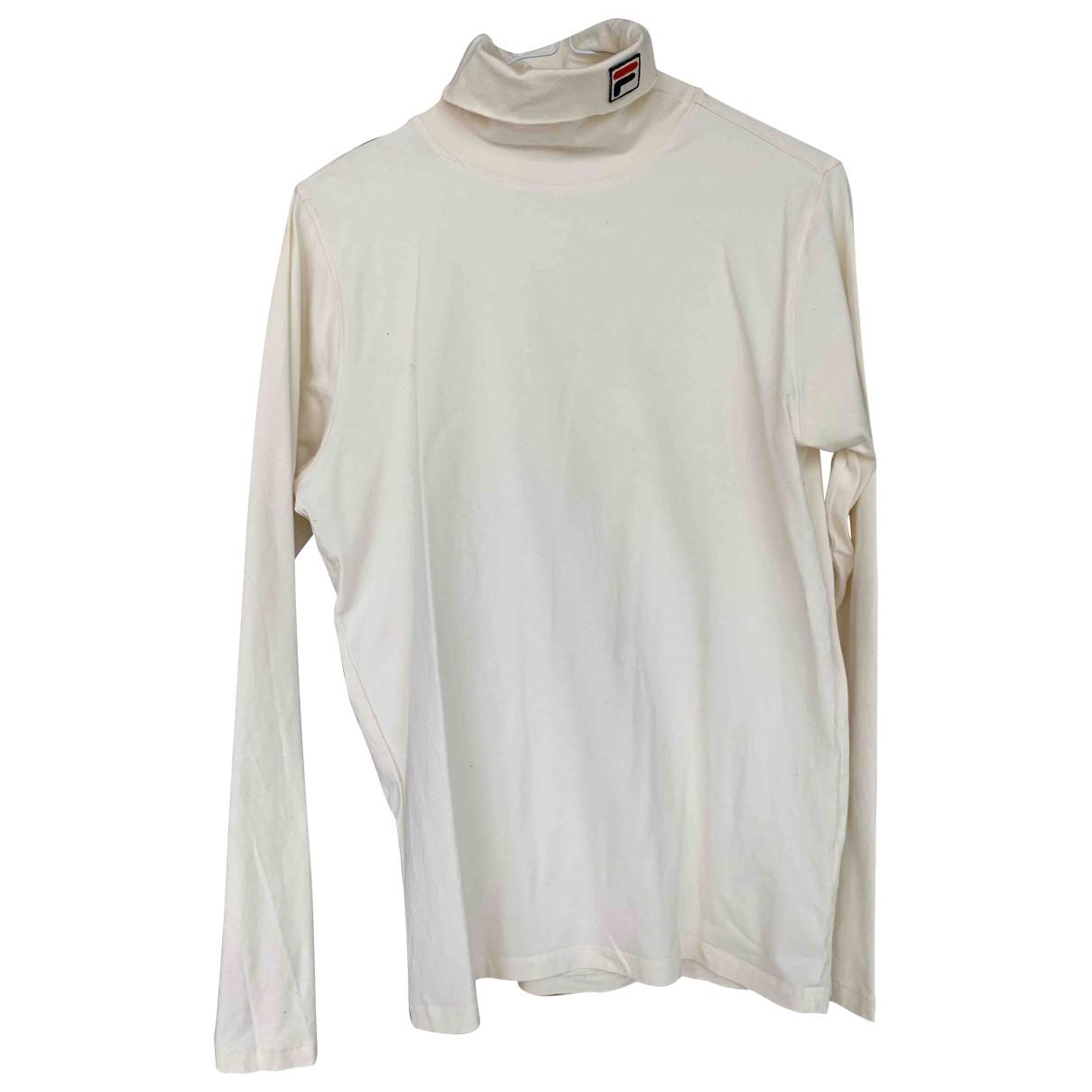 Fila \N T-Shirts in  Beige Baumwolle
