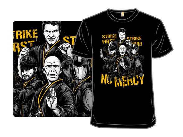 Villains Strike First T Shirt