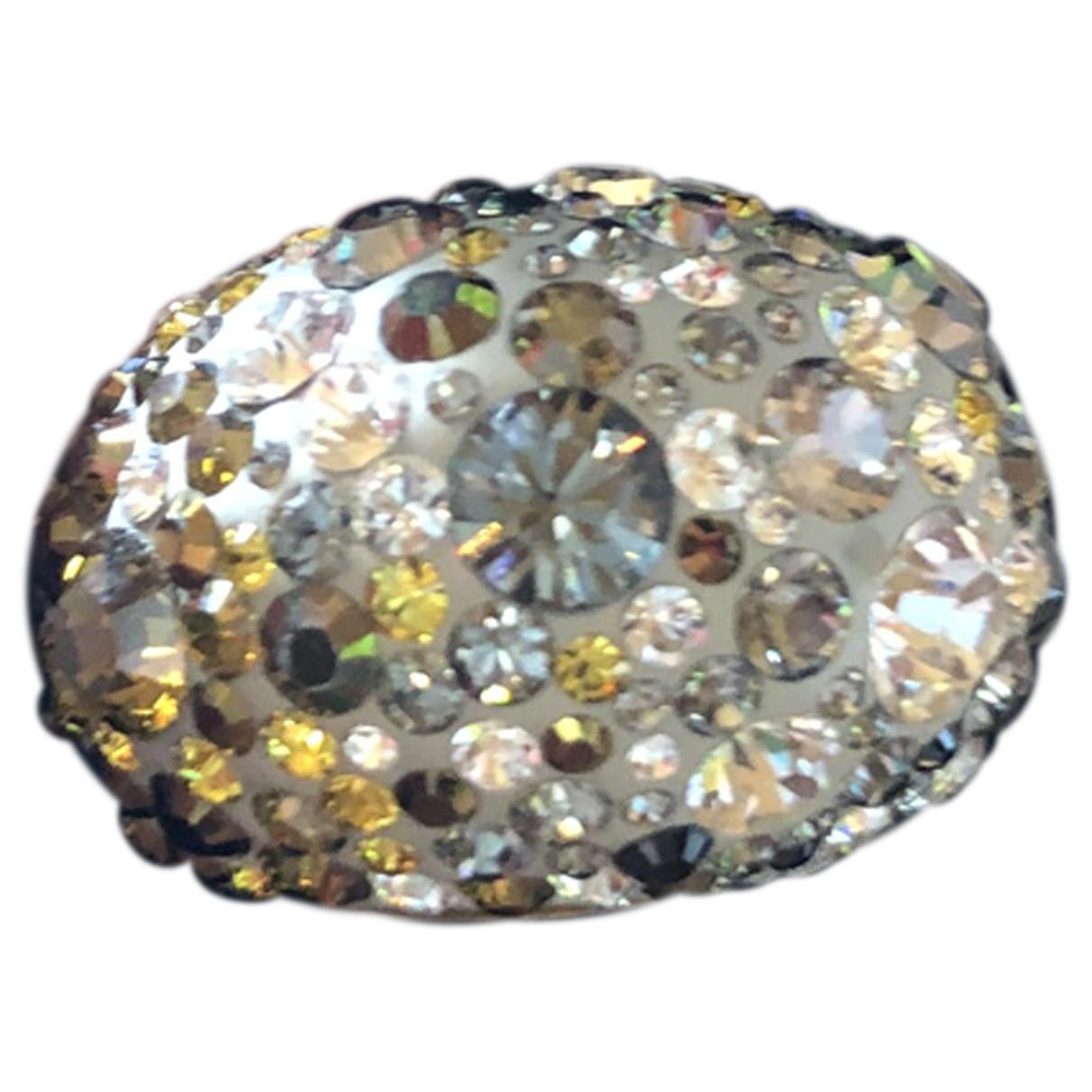 Swarovski Nirvana Ring in  Gold Kristall