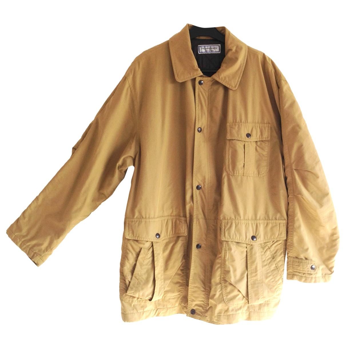 Yves Saint Laurent - Manteau   pour homme en coton