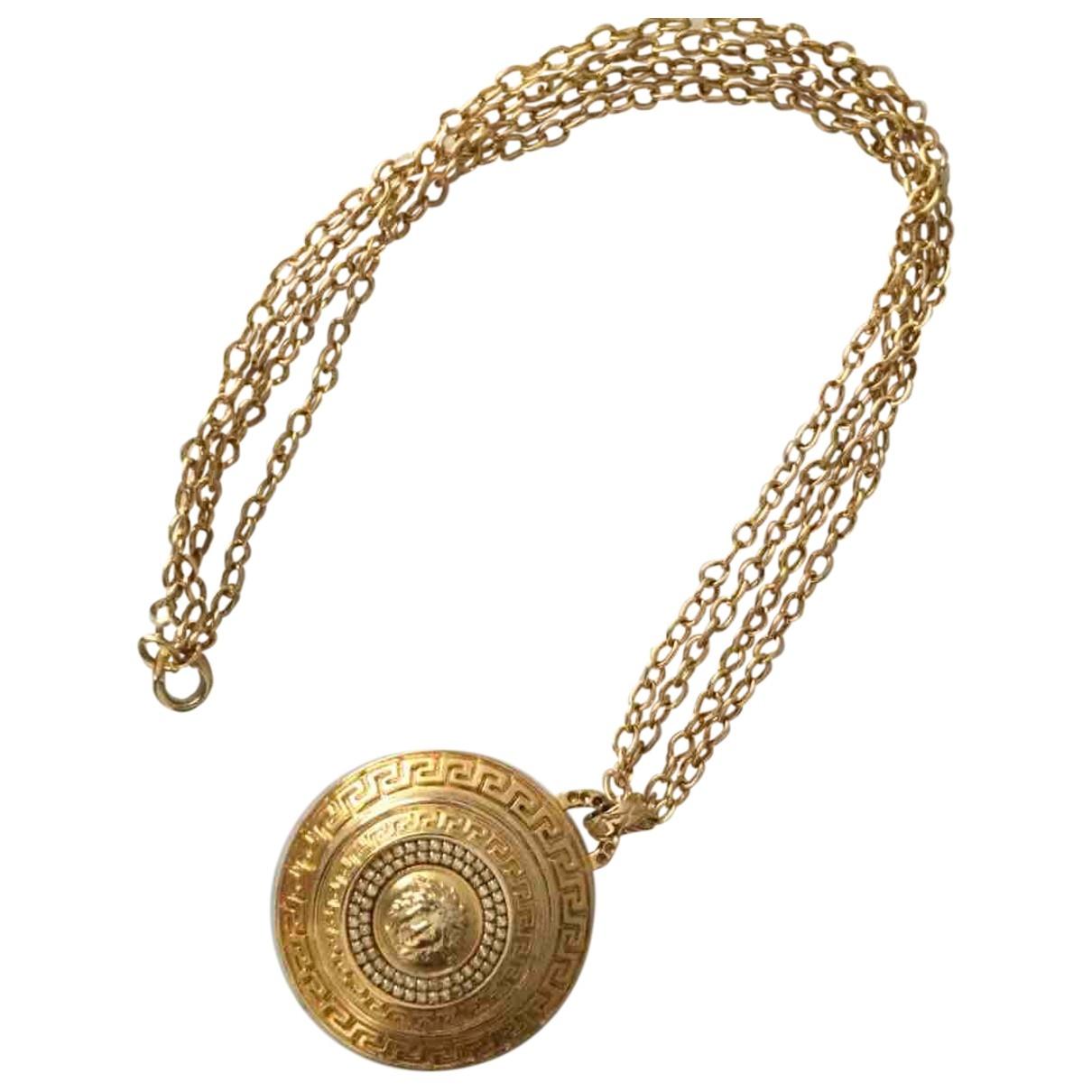 Versace \N Kette in  Gold Metall