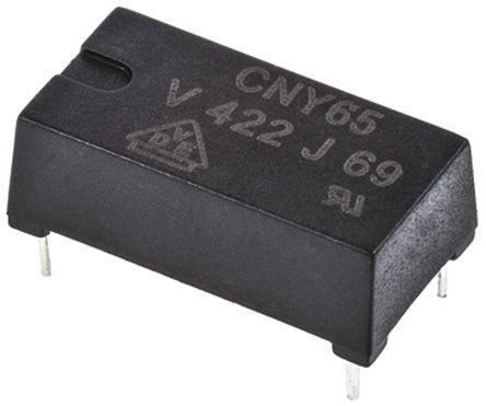 Vishay , CNY65 DC Input Transistor Output Optocoupler, Through Hole, 4-Pin PDIP (2)