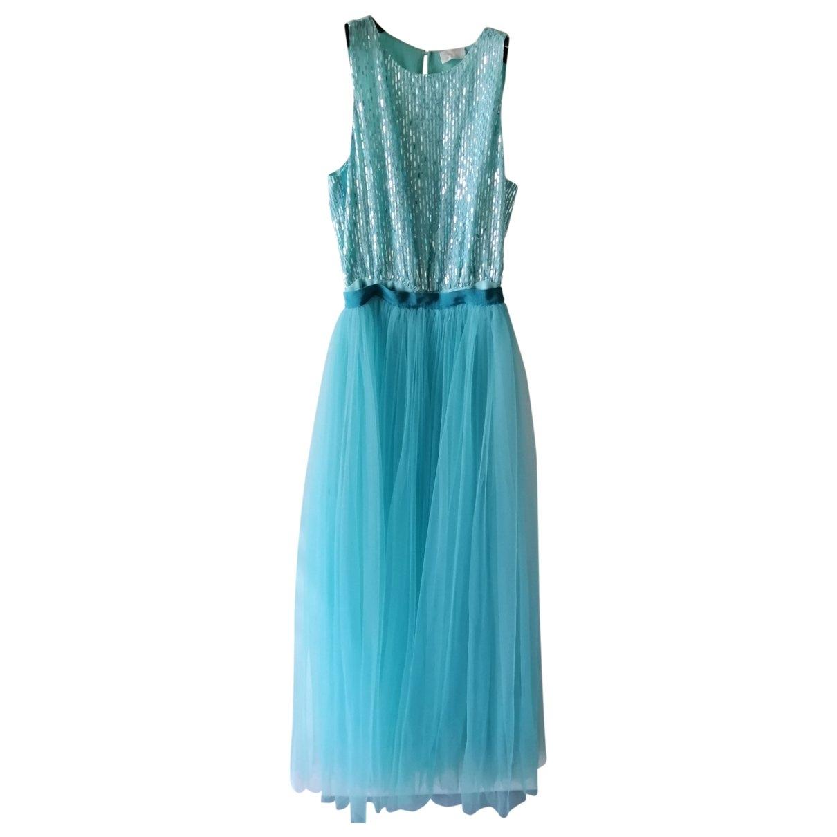 Elisabetta Franchi - Robe   pour femme - turquoise