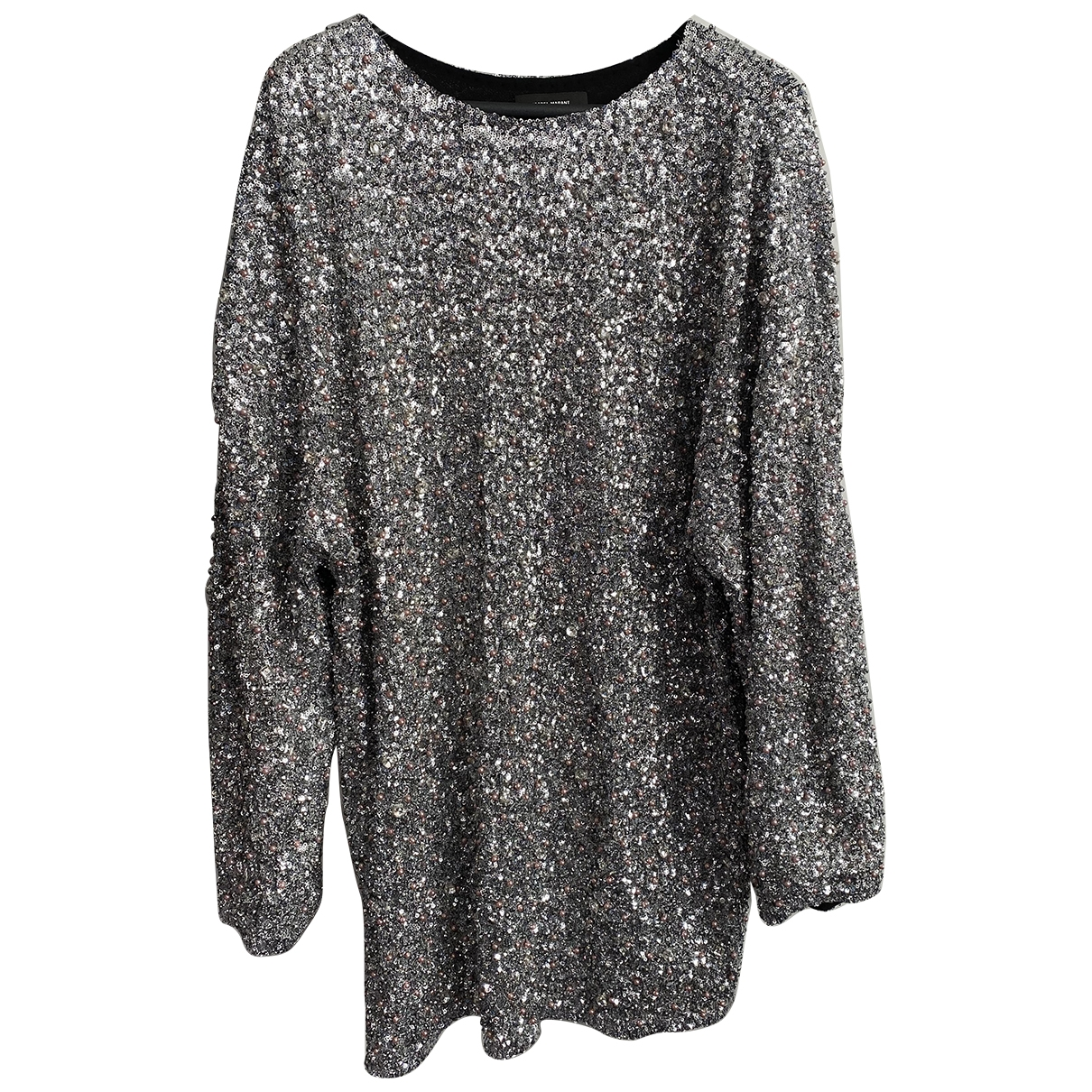 Isabel Marant \N Kleid in  Silber Polyester