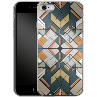 Apple iPhone 6 Silikon Handyhuelle - Mosaic I von caseable Designs