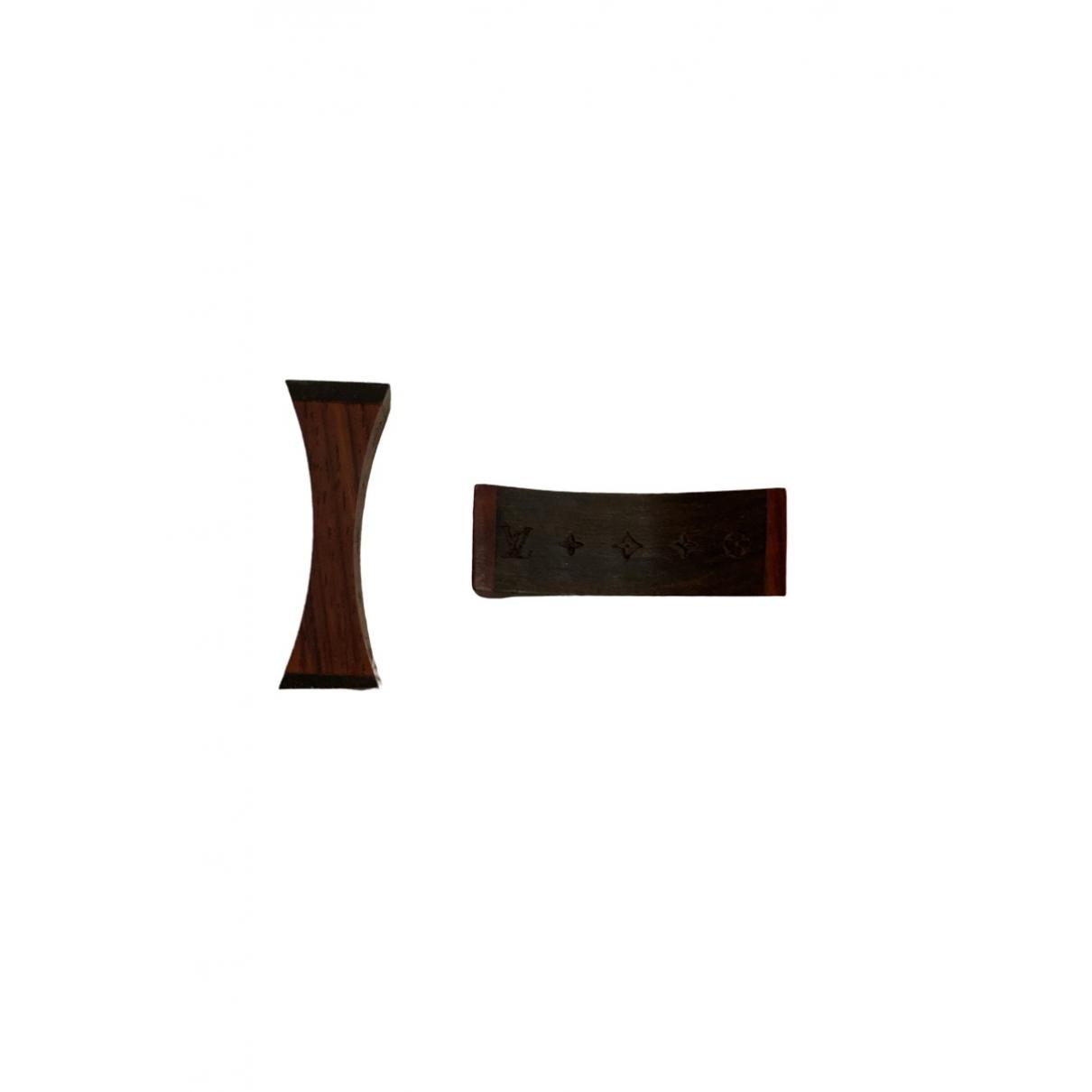 Louis Vuitton - Arts de la table   pour lifestyle en bois - marron