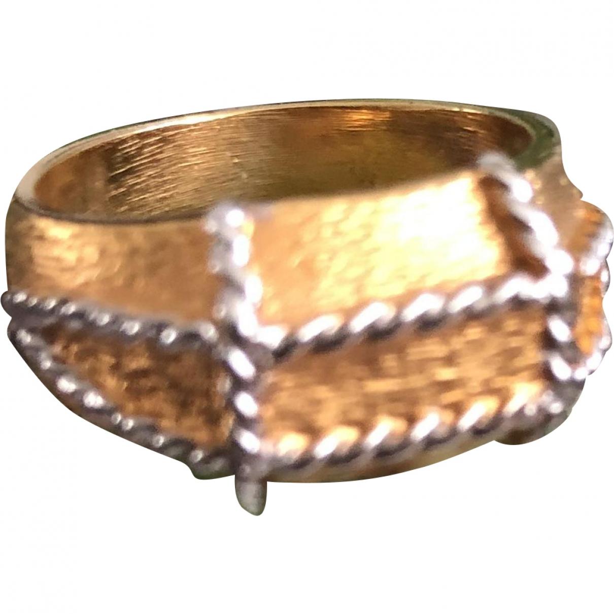 Lanvin \N Gold Metal ring for Women \N