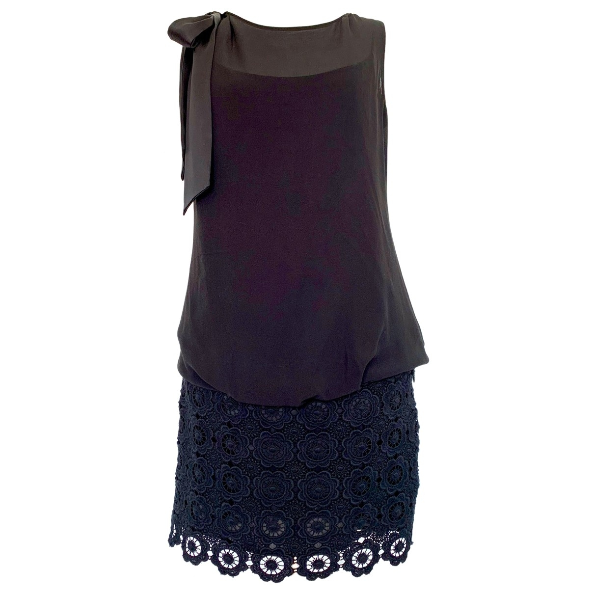 Moschino Cheap And Chic - Robe   pour femme en dentelle - noir