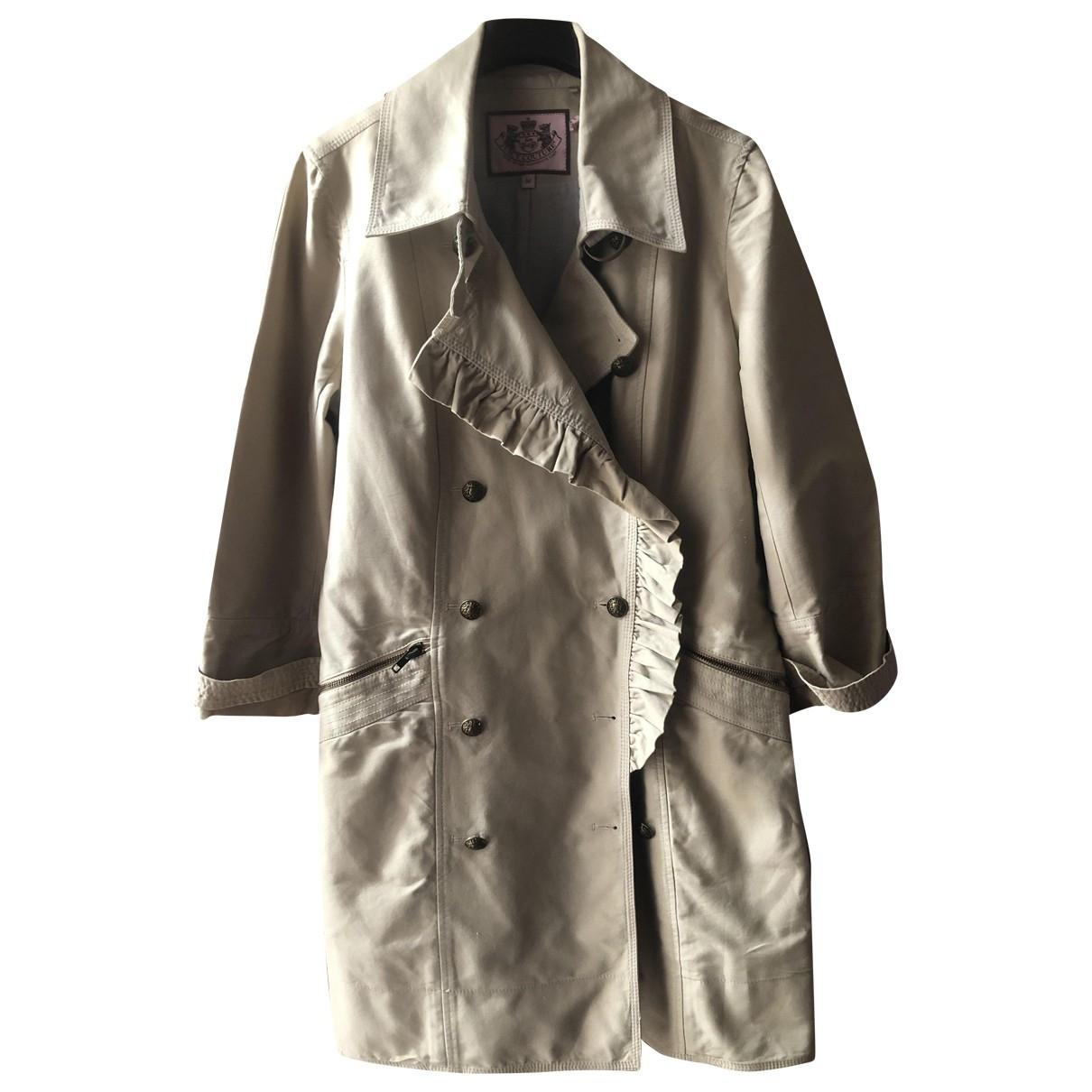 Juicy Couture - Trench   pour femme en coton - beige