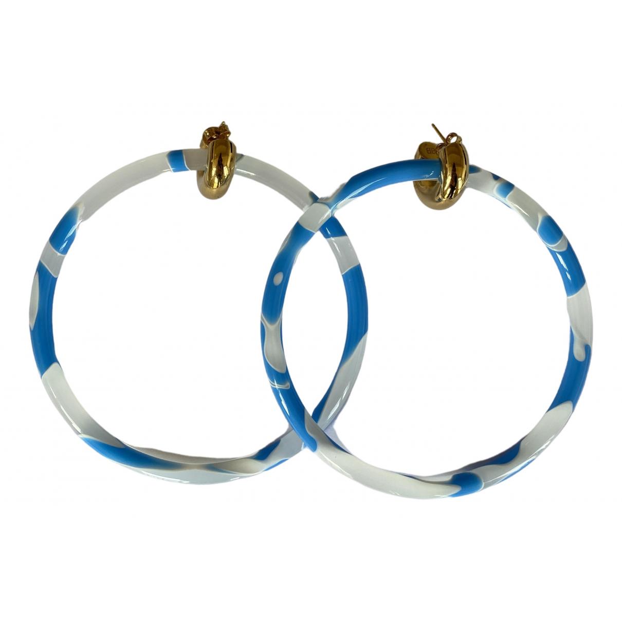 Balenciaga \N Blue Earrings for Women \N