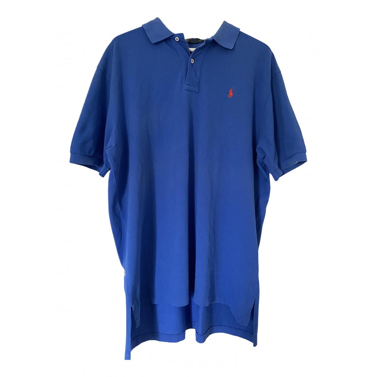 Polo Ralph Lauren \N Poloshirts in  Blau Baumwolle