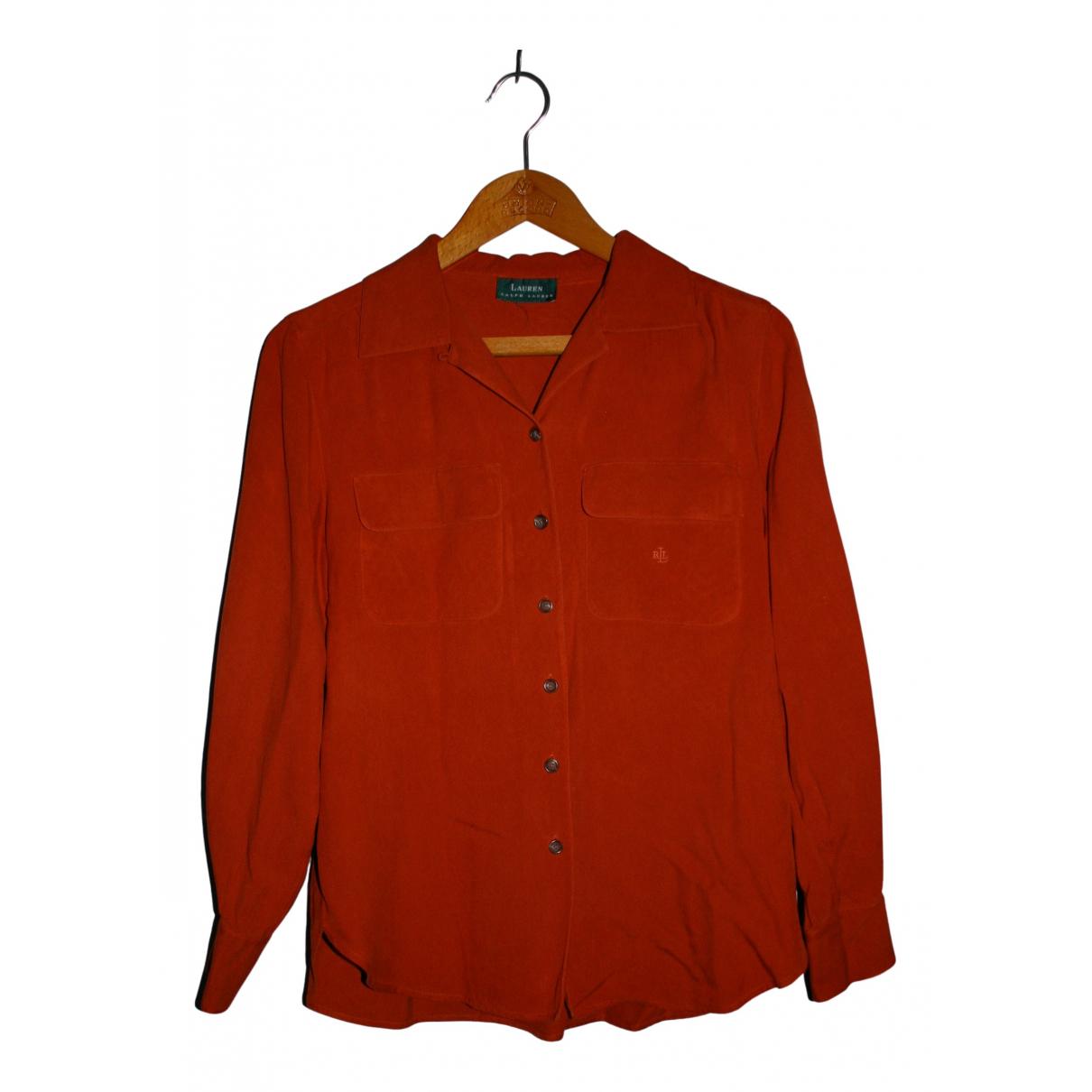 Lauren Ralph Lauren N Orange Cotton  top for Women L International