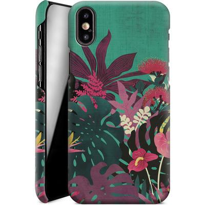 Apple iPhone XS Smartphone Huelle - Tropical Tendencies von Little Clyde