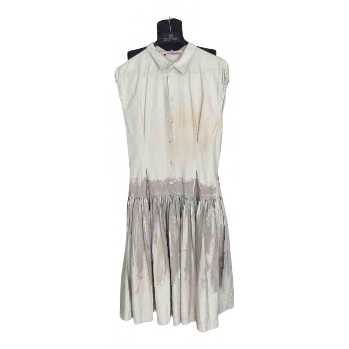 Prada \N Beige Cotton dress for Women M International