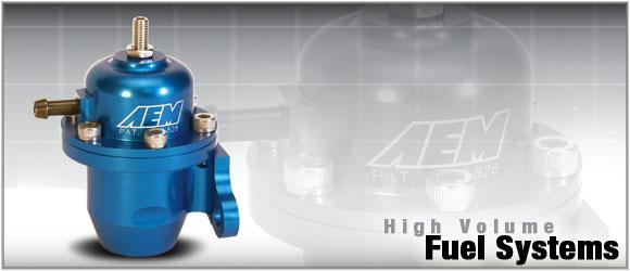 AEM Electronics 25-303BK High Volume Adj Fuel Pressure Regulator Acura Integra RS LS GS and GSR 86-93