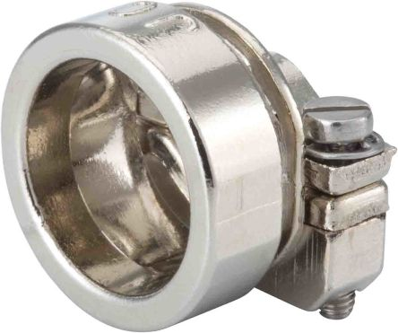 Jaeger Cable Clamp Natural Screw Cable Clamp, 13mm Max. Bundle